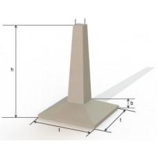 Фундамент линий электропередач Ф 5-4