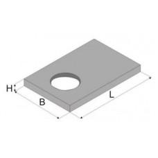 Плита септика прямоугольного ПСП 300.240.14-3