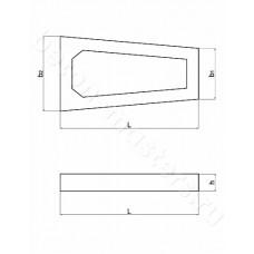 Контрфорс (опора плиты) ОП-1