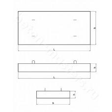 Плита стеновая траншеи ПСТ 2-3-0,15